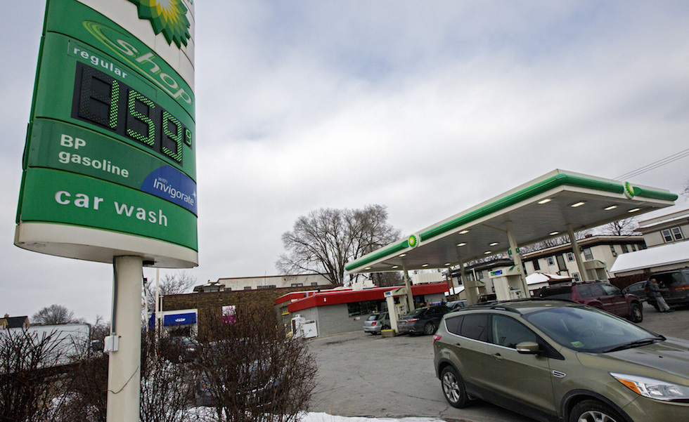 Cheapest gas prices for a quarter in 12 years