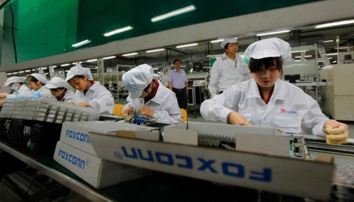 Foxconn buying Sharp
