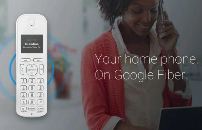 Google Fiber landline phone - Fiber Phone