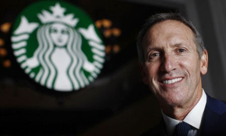 Howard Schultz urges employees to get out and vote