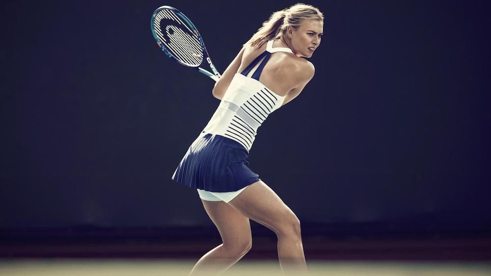 Maria Sharapova and HEAD sponsorship