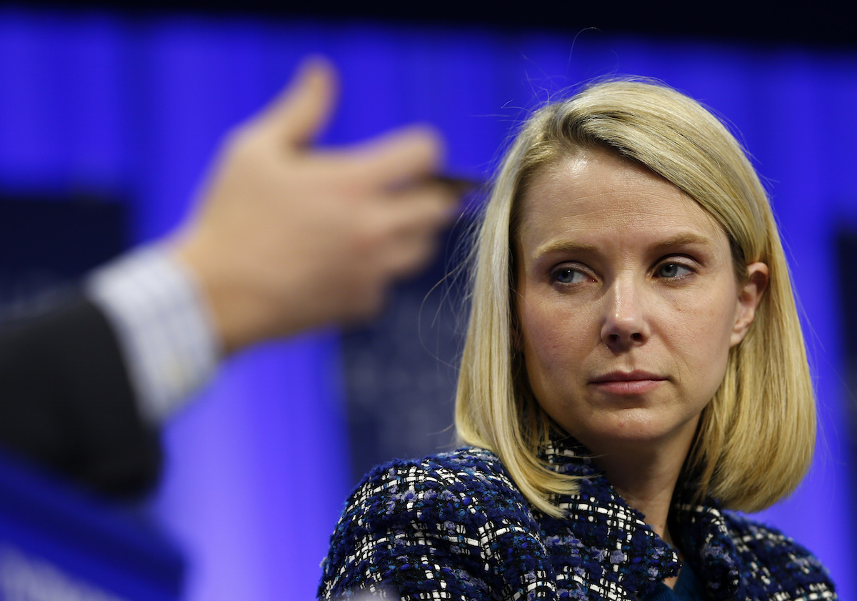 Marissa Mayer out at Yahoo?