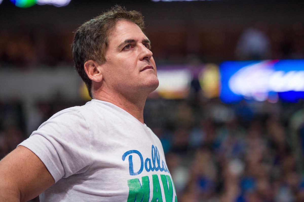 Mark Cuban and the wealthiest American sports team owners.