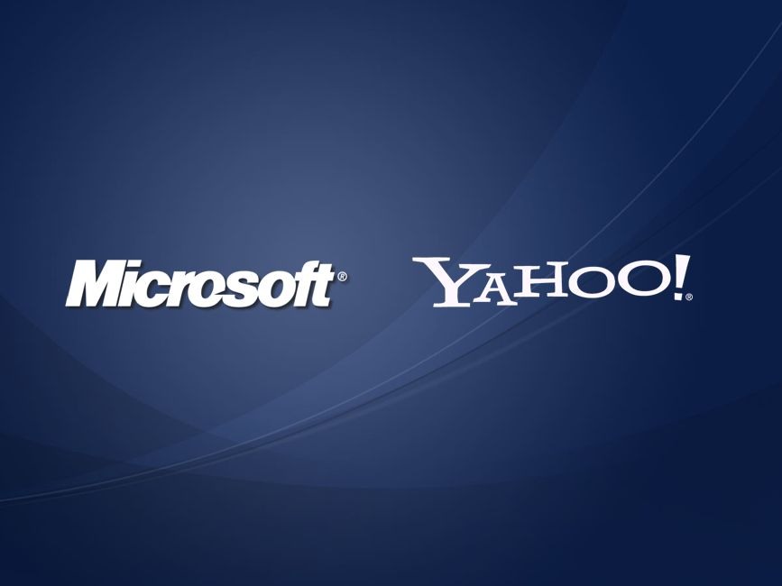 Microsoft and Yahoo sale financing