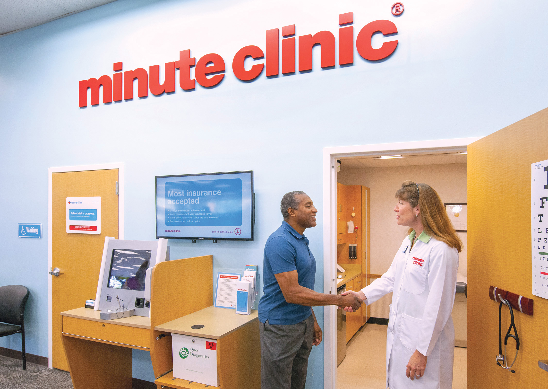 Minute Clinic results on health spending