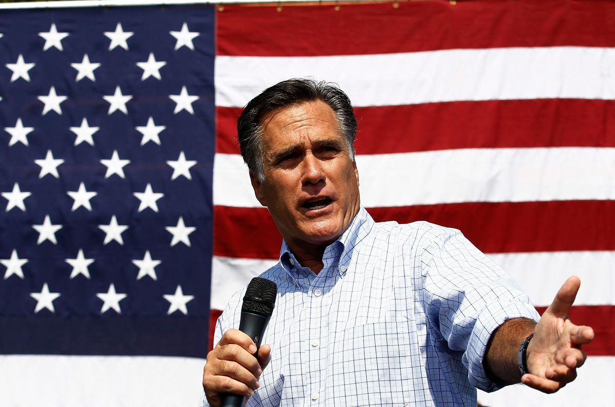 Mitt Romney Writes Trump