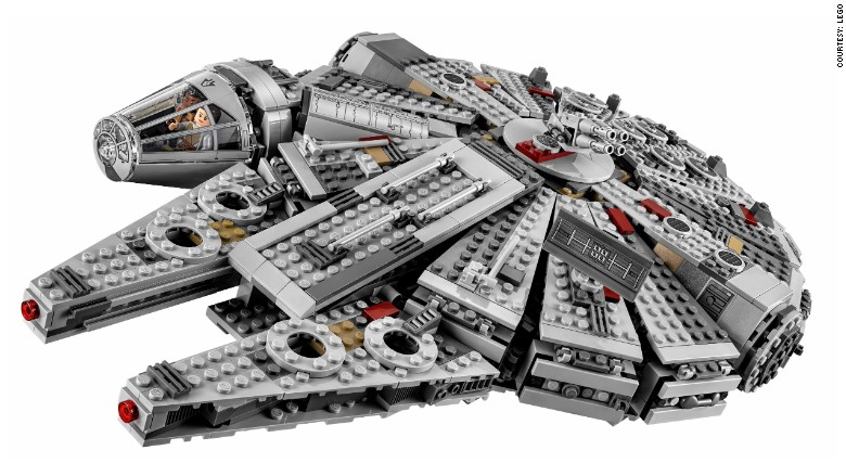 LEGO sales shoot through the roof with help from Star Wars