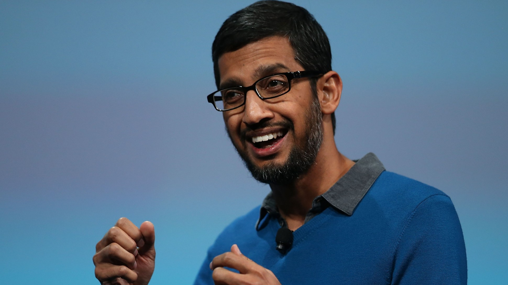 Google CEO Sundar Pichai was paid $100 million last year