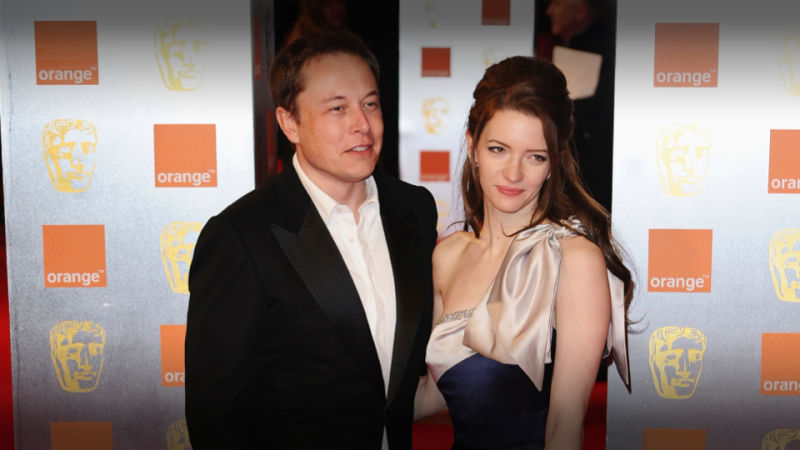 Talulah Riley and Elon Musk