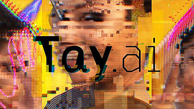 Tay AI shut down by Microsoft after one day