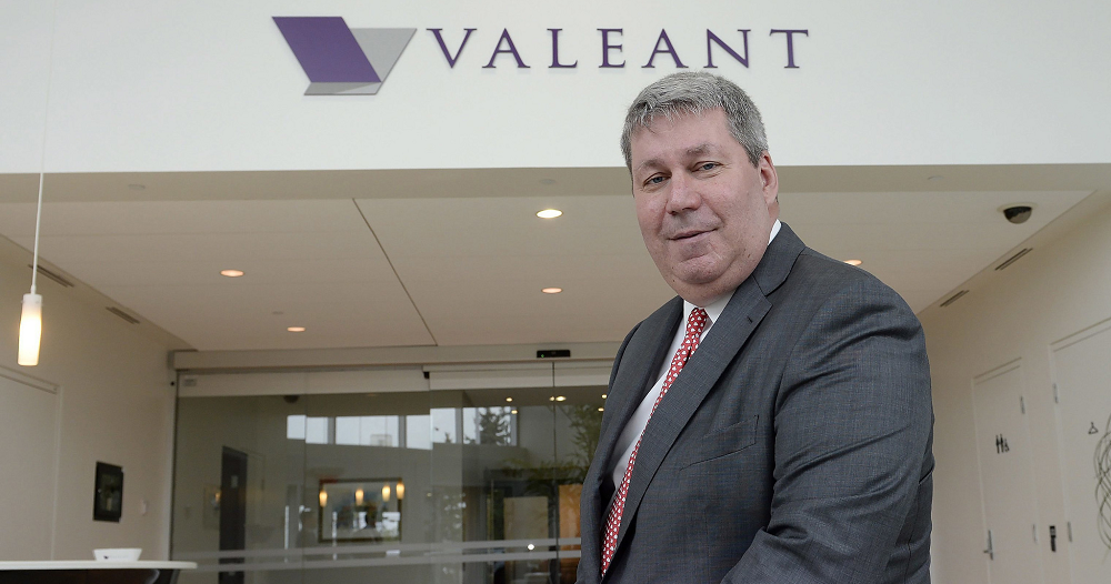 Valeant CEO Leaves