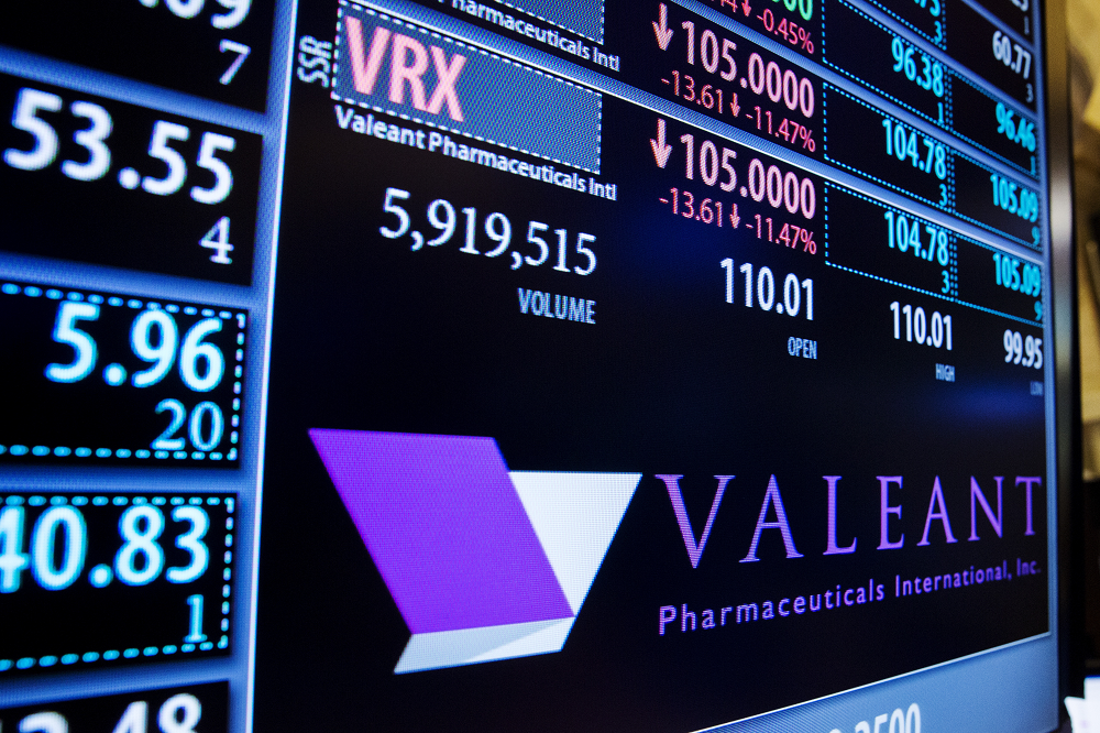 Valeant Stock Collapses