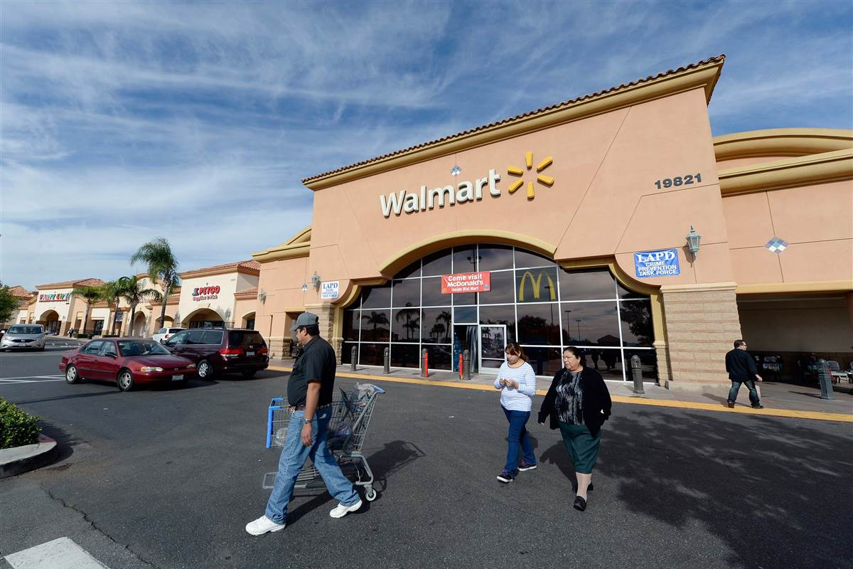 Walmart core shoppers have no money to shop