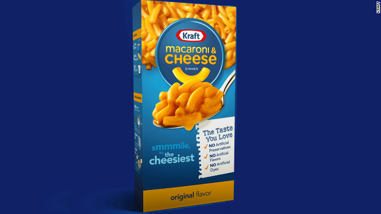 kraft mac and cheese has a new recipe