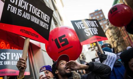 15 dollar minimum wage in New York