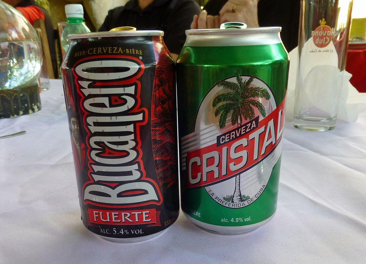 Bucanero and other Cuban beers are in short supply