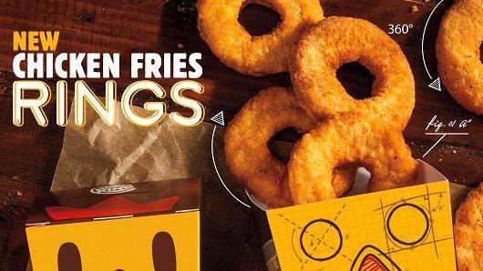 Burger King Chicken Rings