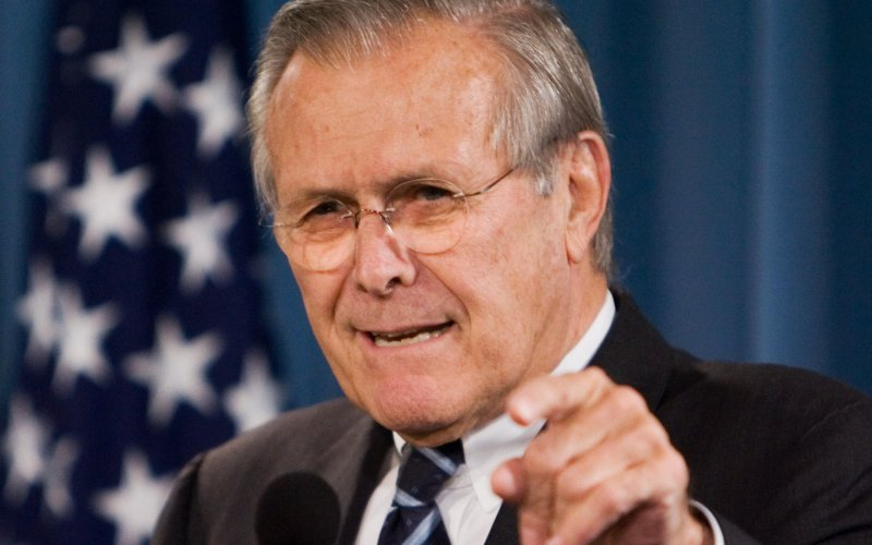 Donald Rumsfeld and IRS taxes