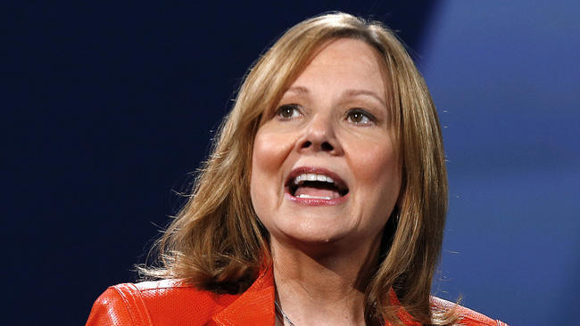 GM CEO Mary Barra receives a 77% bump in her pay package