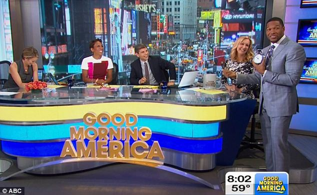 Michael Strahan on GMA permanently
