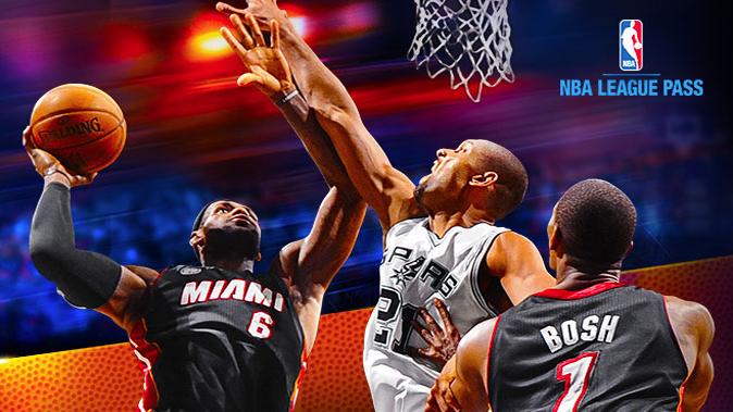 NBA League Pass record views
