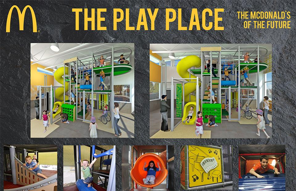 New McDonalds Playplace