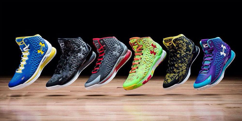 Stephen Curry massive shoe sales