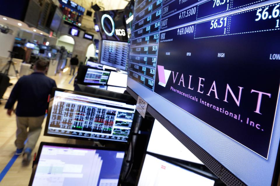 Valeant Pharmaceuticals new CEO Joseph Papa