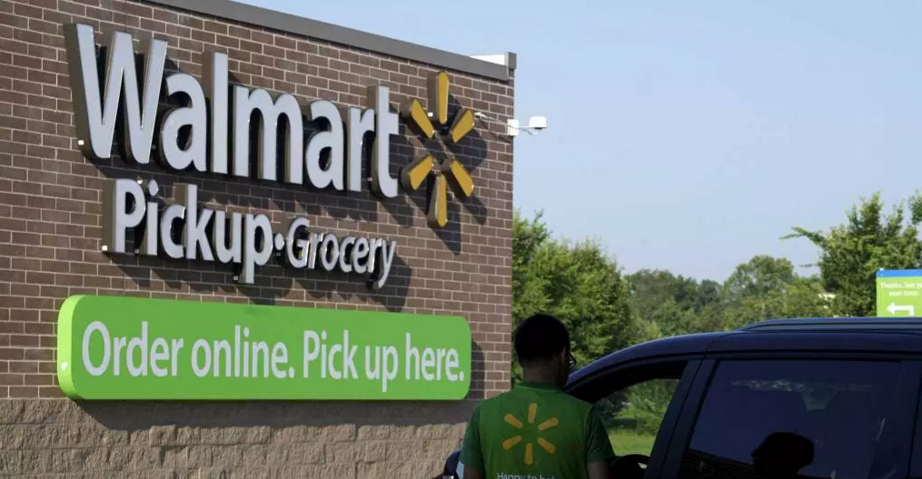 Walmart Free Grocery Pickup Program