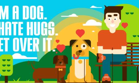 Dog Hates Hugs