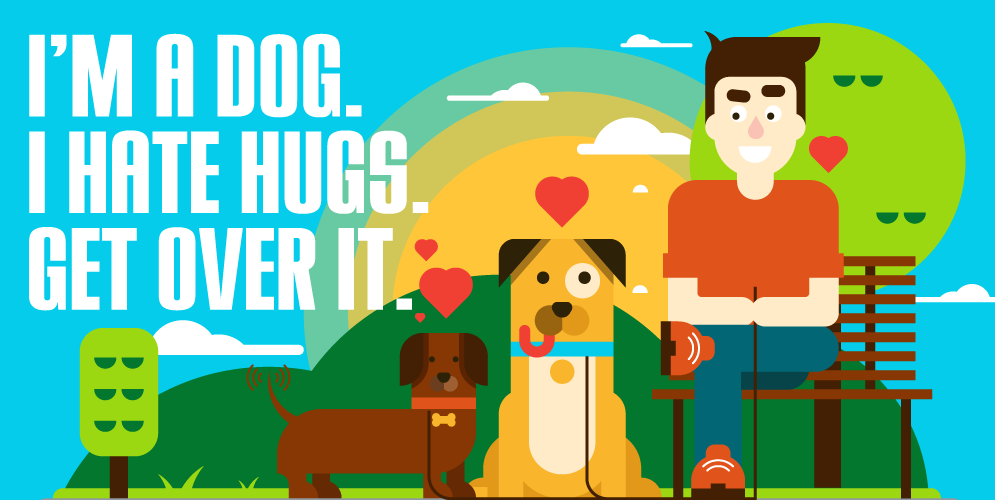 Your dog hates hugs and other interesting facts [Infographic]