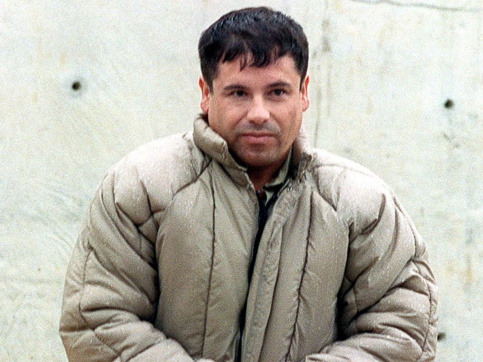El Chapo being extradicted to the USA