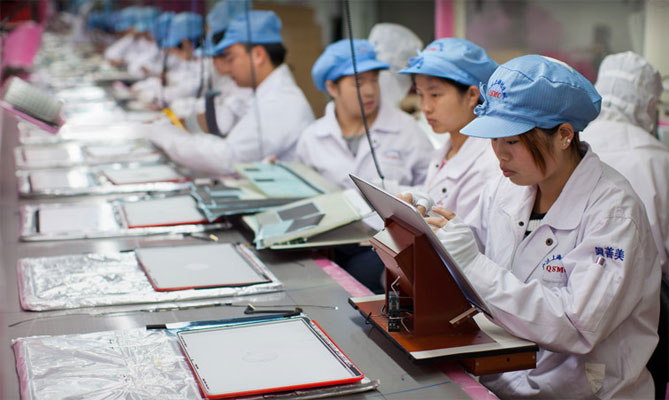 Foxconn is replacing iPhone workers with robots