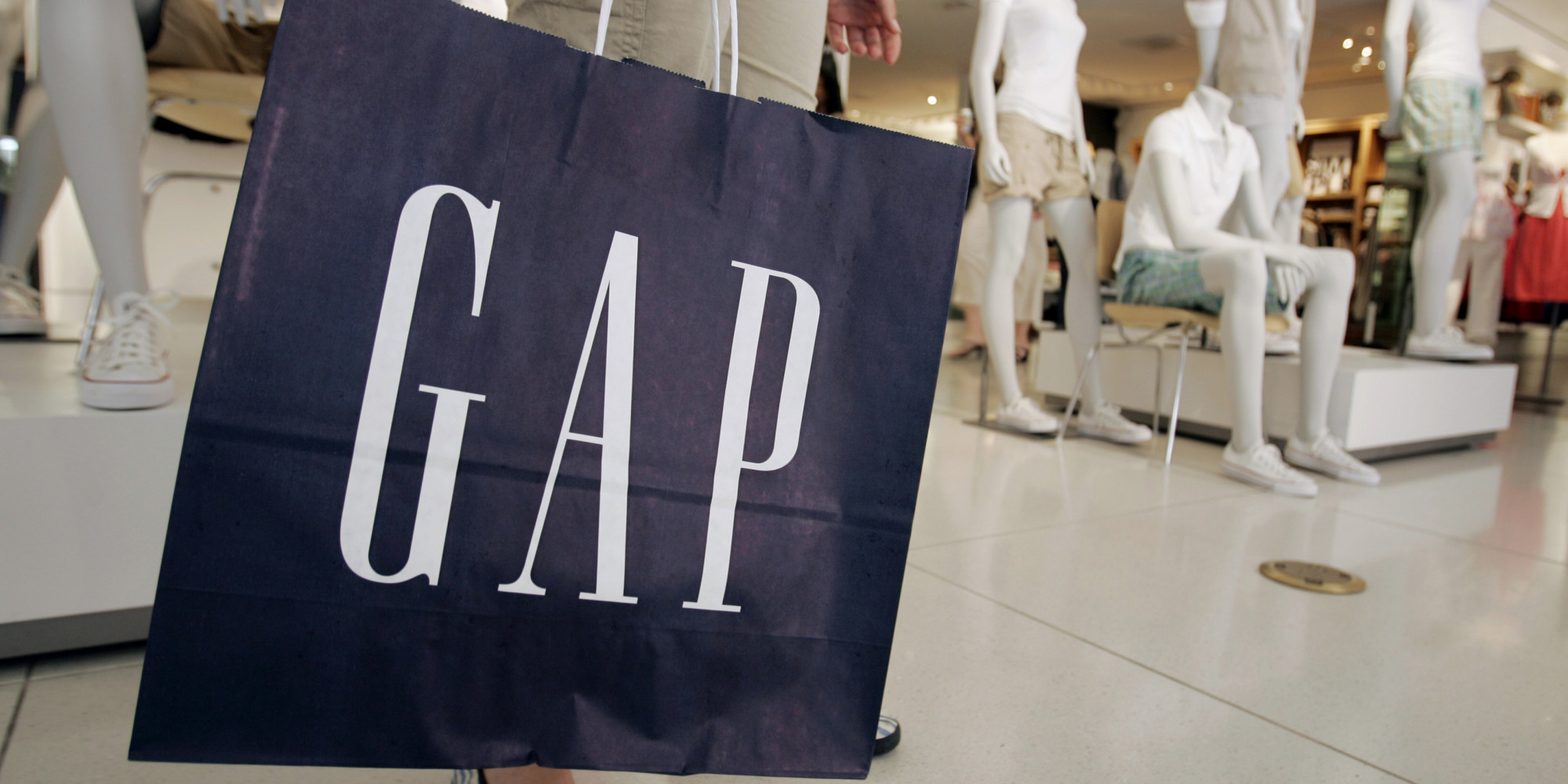 Gap sales are down a lot