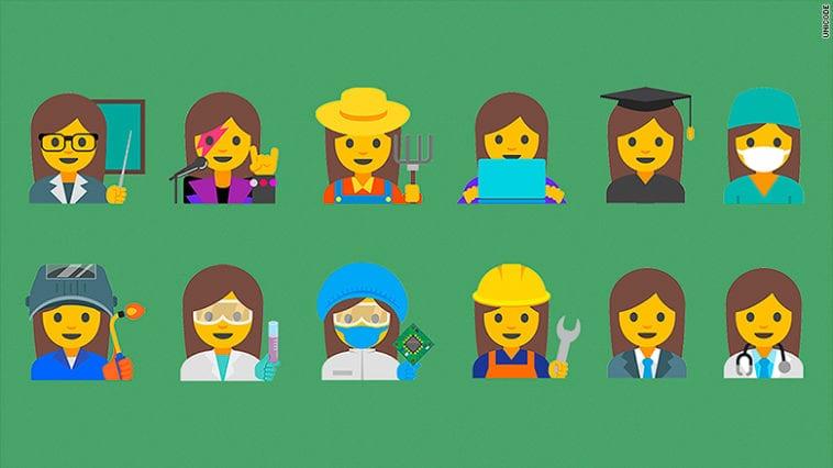 Google proposes professional women emojis