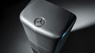 Mercedes reveals price of at-home battery