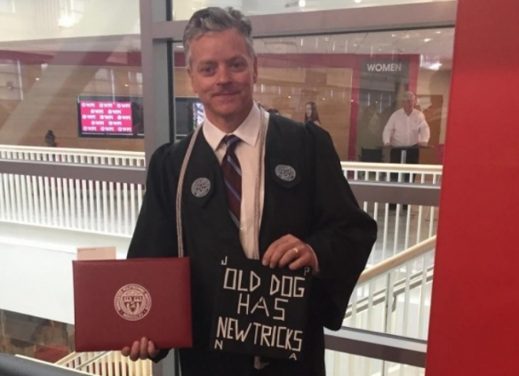 54-year-old janitor graduates from college he cleaned for years