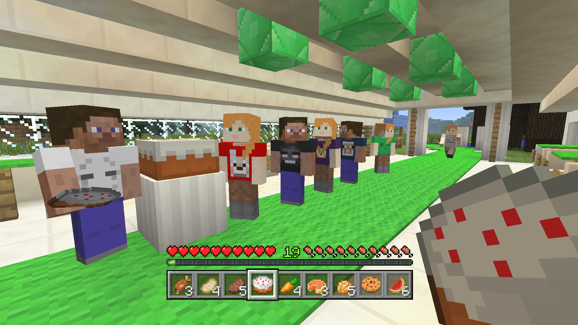 Minecraft Skin Pack for free on Xbox consoles