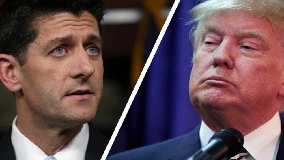 Paul Ryan and Donald Trump still at odds with each other