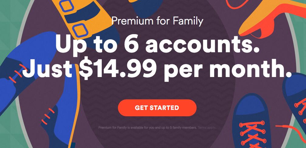Spotify Family Plan