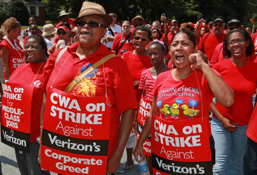 Verizon Strike and the Obama administration