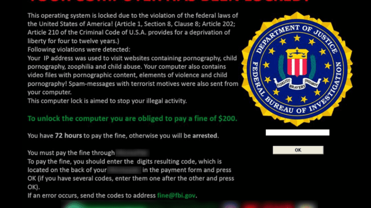 ransomware apology