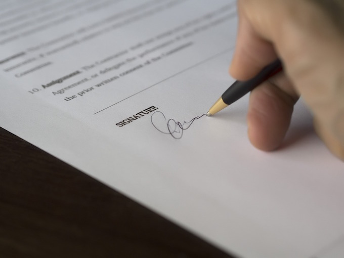 sports contract
