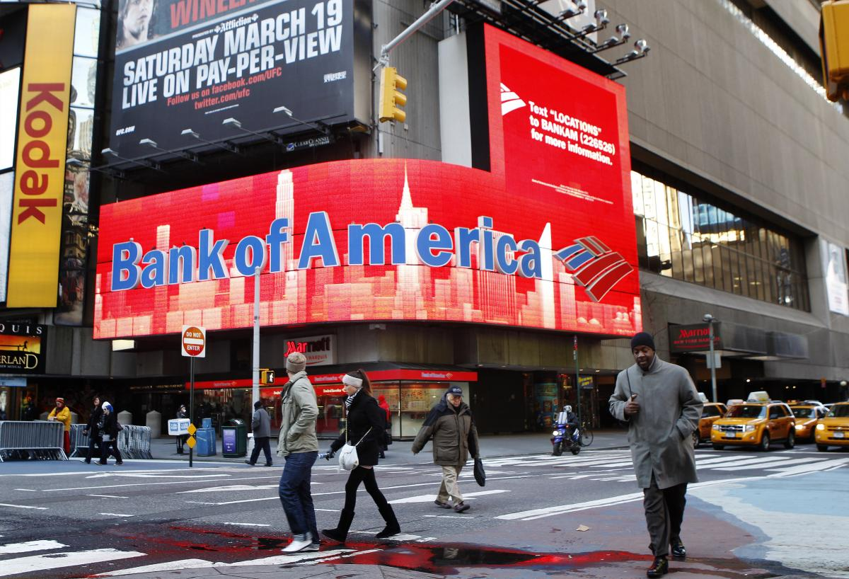 Bank of America has closed nearly 25% of its branches