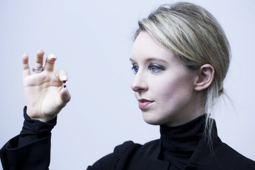 Elizabeth Holmes and net value of zero