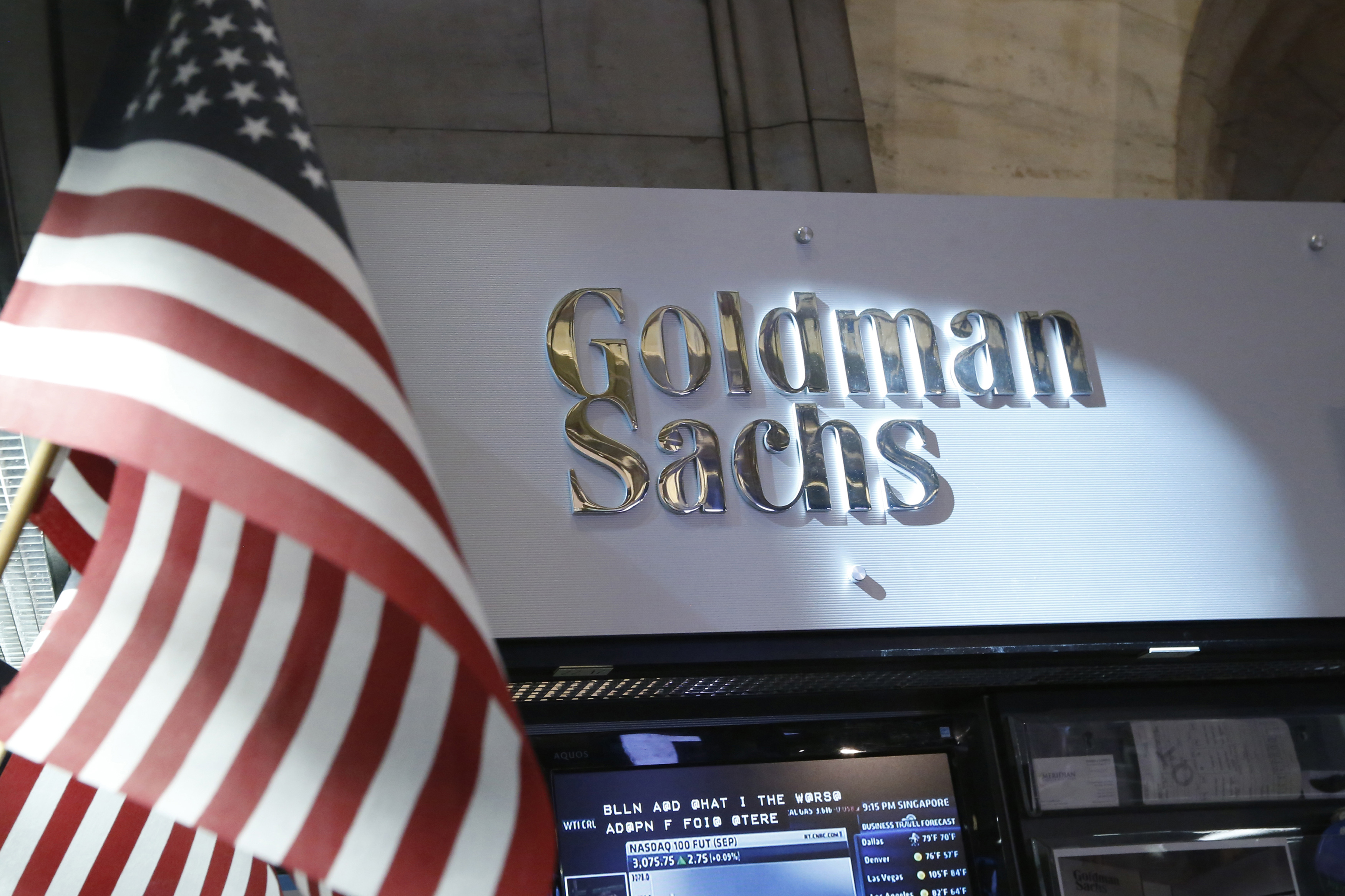 Goldman Sachs is getting nervous about stocks