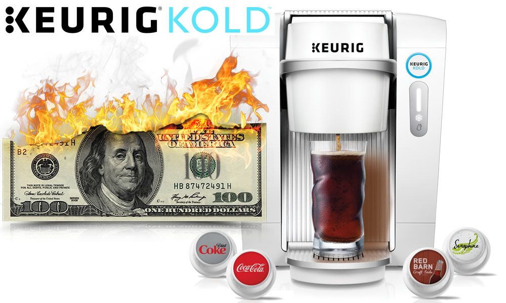 The awful Keurig Kold is going away after just 9 months