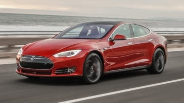 Tesla Model S suspension problems
