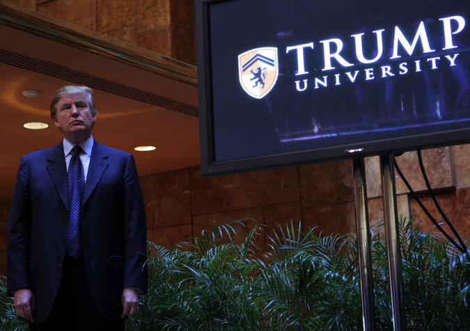 Trump University allegedly fired a Vet because of their reserve duties