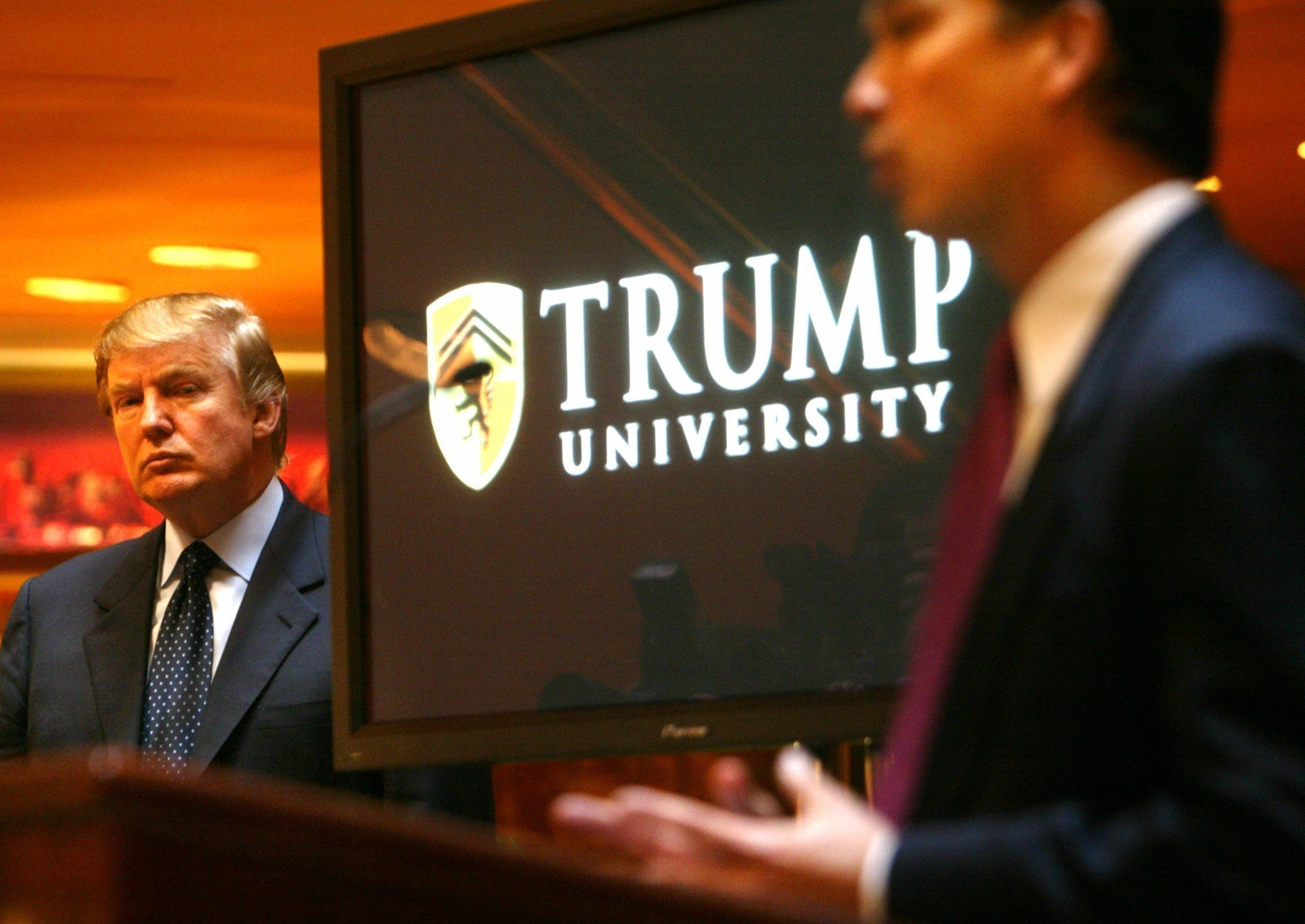 Former employees of Trump University say it's a 'total lie'